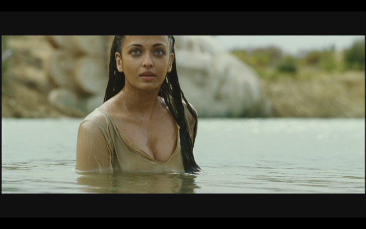 aishwarya rai wet hot in hollywood movie the last legion wet actress